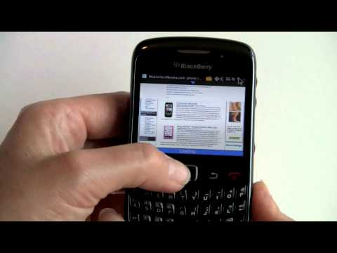 BlackBerry OS 6 on the Curve 3G