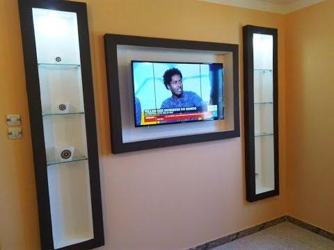 Meuble Tv En Placoplatre Decoration Placo Ba13 Salon