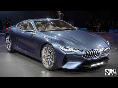 This is the New BMW 8 SERIES CONCEPT!