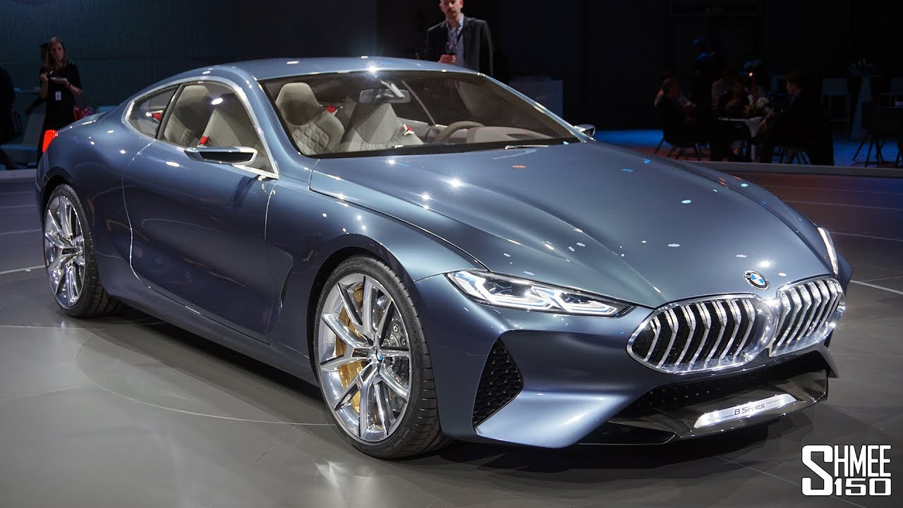 This Is The New Bmw 8 Series Concept!  Youtube