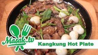 Kangkung Hot Plate | Resep #136