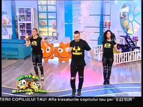 Urbhanize® at Antena1 LIVE TV in Romania - Dennis Thomsen w. Simona & Lidija