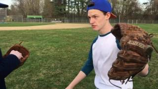KID GETS MAD!!! GETS DRILLED BY PITCH!!! MUST WATCH!!