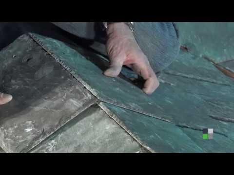Part 6 - Ridge Cap - Greenstone Slate / SlateTec slate roof Installation  system video series