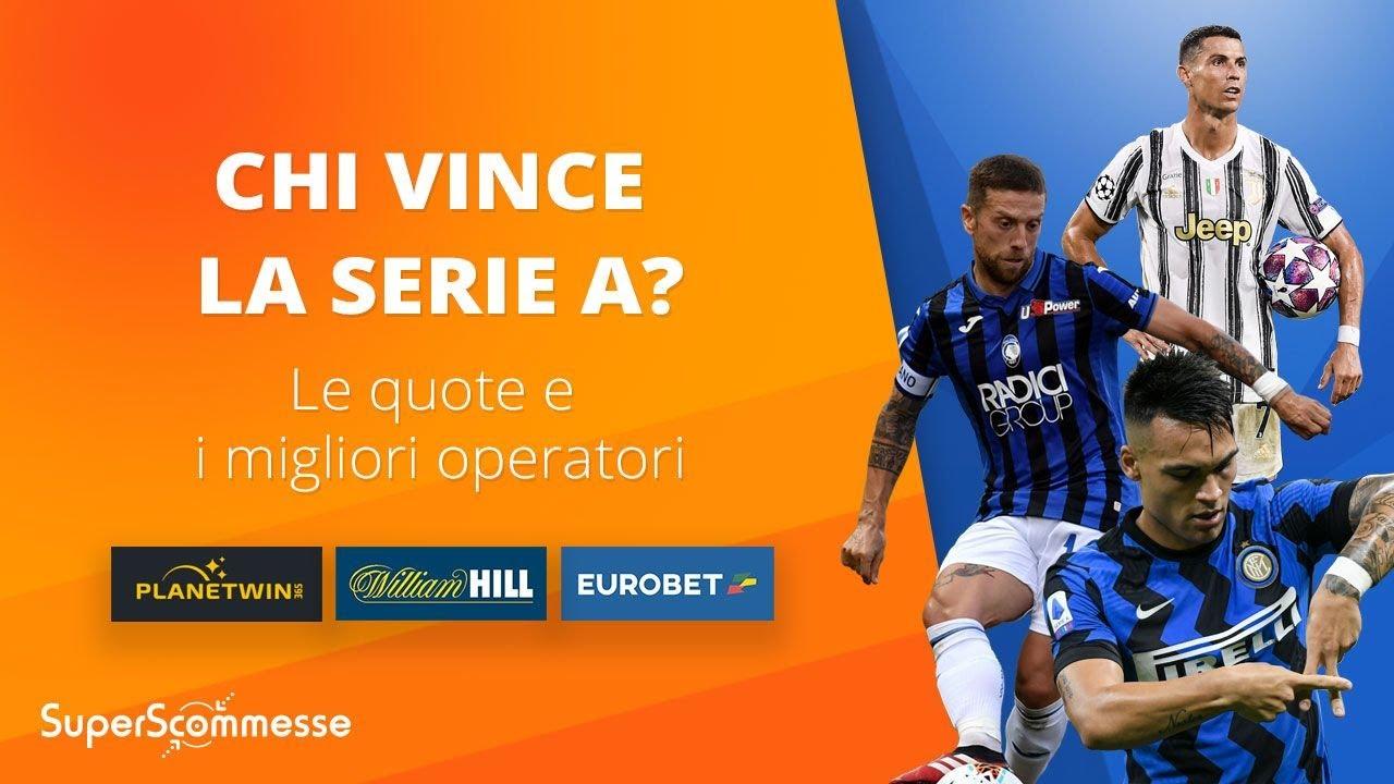 Quote Scudetto 2021 Confronto Sul Vincente Serie A Del Nuovo Campionato Superscommesse It