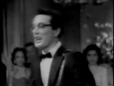Buddy Holly on the Arthur Murray Dance Party 12/29/57