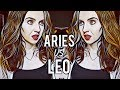 ARIES VS LEO | Love & Anger Compatibility | Hannah's Elsewhere