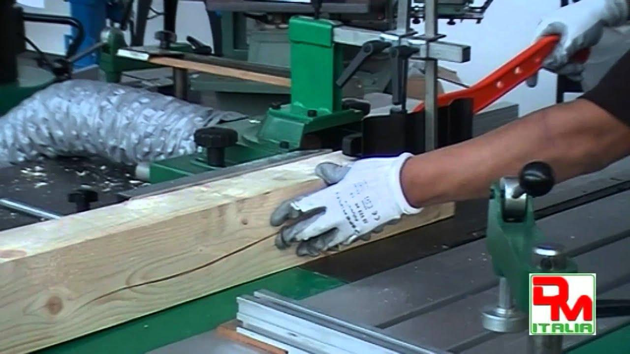 Macchine Per Lavorare Il Legno Usate D Occasione : Macchina combinata per legno america 300 7 super youtube