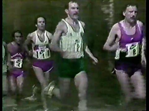 Atletismo :: Carlos Lopes faz 2º na Maratona de Roterdão em Abril de 1983