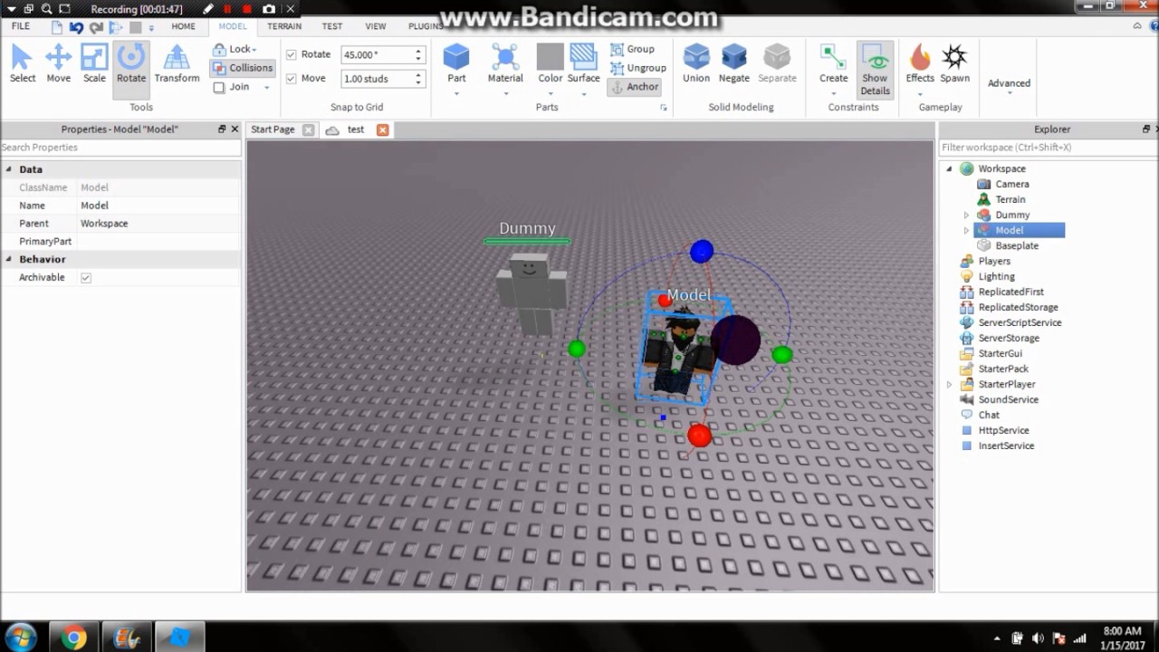 How To Make Your Model Have Dialog In Roblox Studio Youtube
