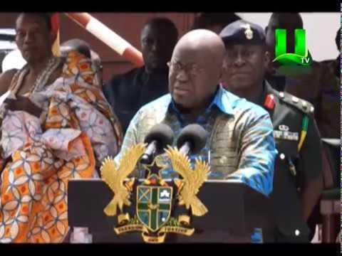 Prez. Akufo-Addo Cuts Sod For New French Embassy