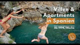 Ferienvillen & Apartments | In den besten Orten in Spanien