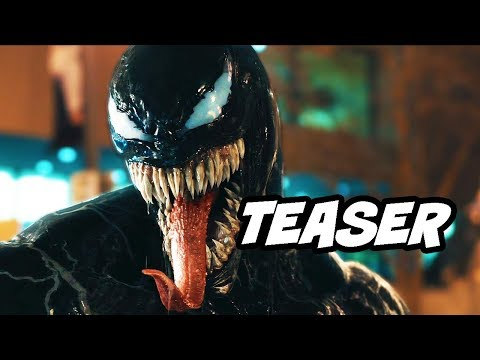 Venom Comic Con Teaser and Green Goblin First Look Explained