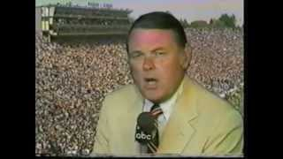 Keith Jackson & Michigan Football