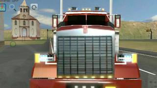 Gameplays Android - Peterbilt Con Skin Kenworth Grand Truck Simulator