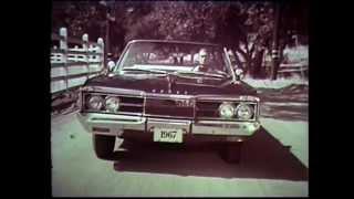 1967 Dodge Polara Convertible Commercial - Pam Austin as the Dodge Girl