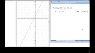 crtnje grafa linearne funkcije zbirka riješenih zadataka za prvi razred srednje škole