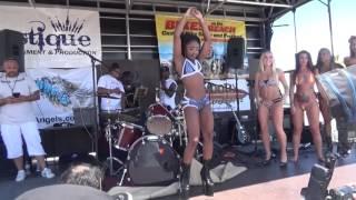 Repeat youtube video Bikini contest at 2015 SOUTH FLORIDA BIKES ON THE BEACH