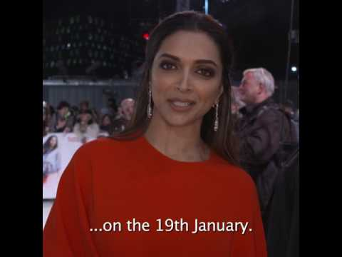 Deepika Padukone in UK - 'xXx: Return Of Xander Cage' releases on 19th January 2017 thumbnail