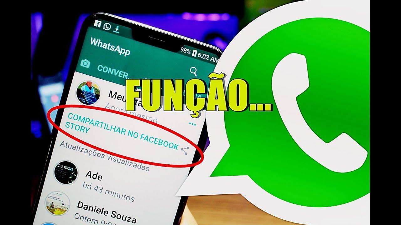 Novo Recurso Para O Whatsapp Compartilhar Status No Stories Do Facebook é Testado