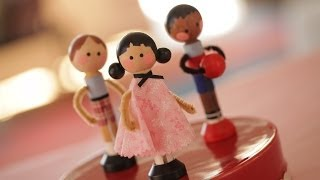 How To Make Clothespin Dolls by Robert | Kin Community