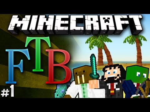 "Minecraft: Feed the Beast #1 ""Finding Home"""