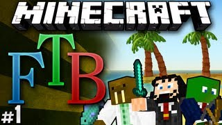 """Minecraft: Feed the Beast #1 """"Finding Home"""""""