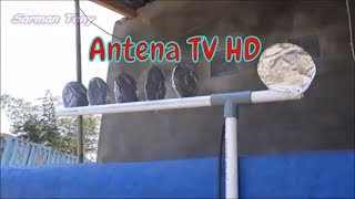 Cara Membuat Antena TV HD dari Kaleng Bekas