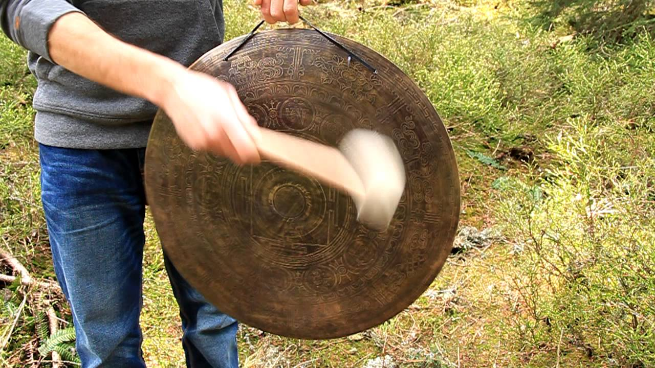 how to make a gong