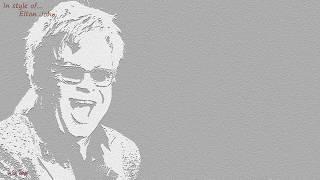 Elton John - Your song - Instrumental and Karaoke