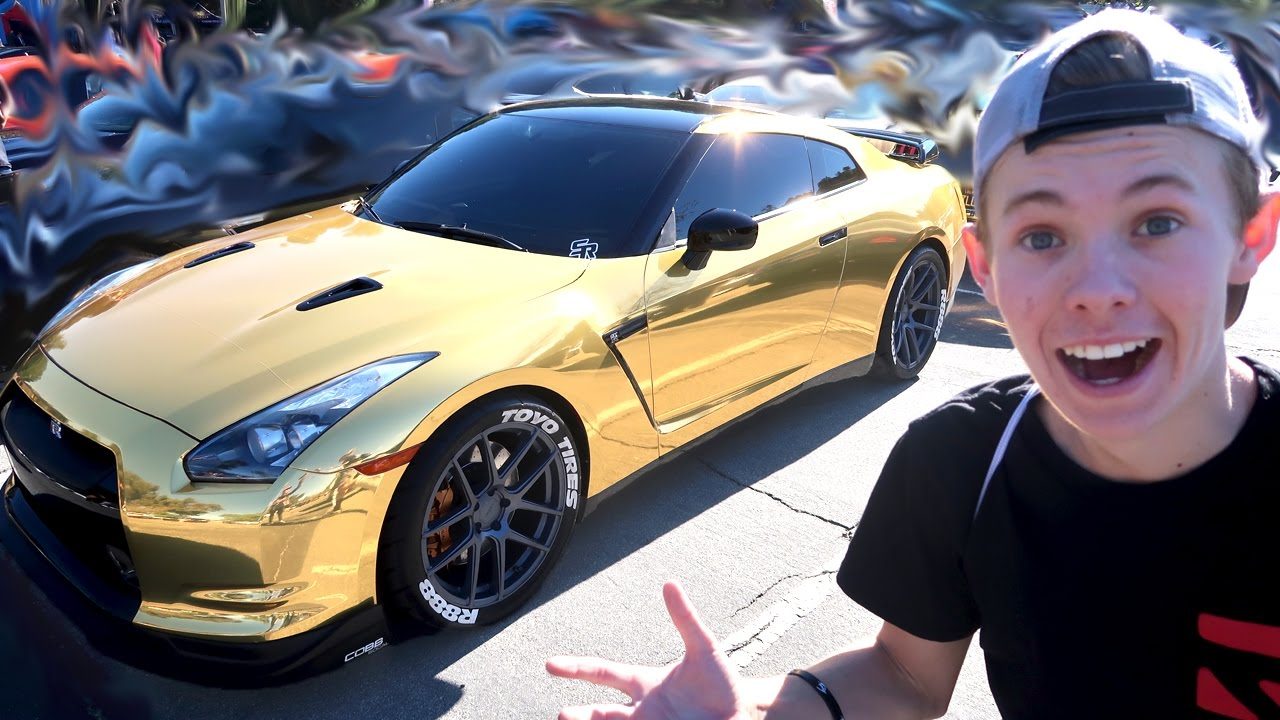 100 Nissan Gtr Wrapped Tanner Fox I Must Be