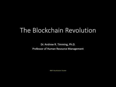 The Future of Work: Blockchain Technology (Part 1)