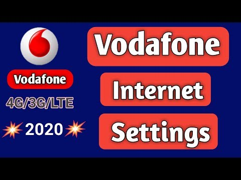 Vodafone 4G Settings 2020 || Vodafone Internet Settings 2020