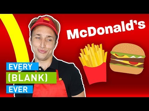 Thumbnail: EVERY MCDONALD'S EVER