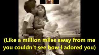 """My Eyes Adored You""  with lyrics  by, Frankie Valli"