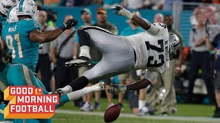 The WORST Fall of the 2017 NFL Season | Good Morning Football | NFL Rush