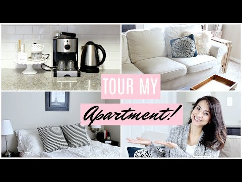 Finally! My Apartment Tour! + Tips For Living in 1 Bedroom w
