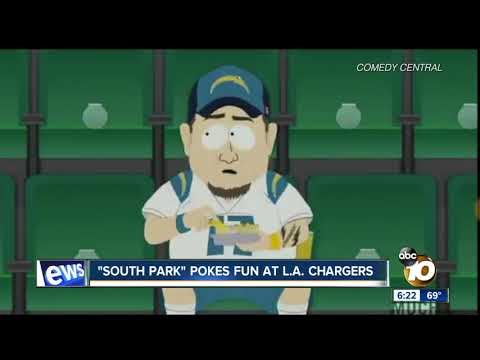 """South Park"" pokes fun at Los Angeles Chargers"