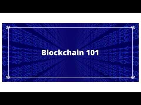 Blockchain 101 Online Course