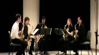 Kenneth Tse and Zzyzx Quartet perform Villa-Lobos Bachianas Brasileiras #5