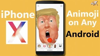 iPhone X [iphone 10] Animoji feature on any android phone | Supermoji app for android 2017