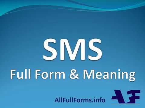 Image result for sms full form