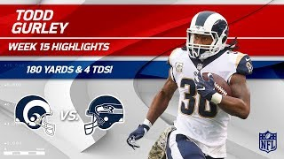 Todd Gurley Highlights | Rams vs. Seahawks | NFL Wk 15 Player Highlights
