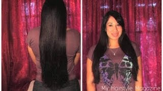 How to get rid of split ends fast naturally on natural hair at home to get Long Hair