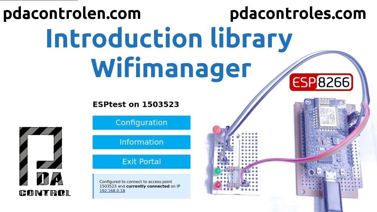 Introduction Library WifiManager for Esp8266: 14 Steps (with Pictures)
