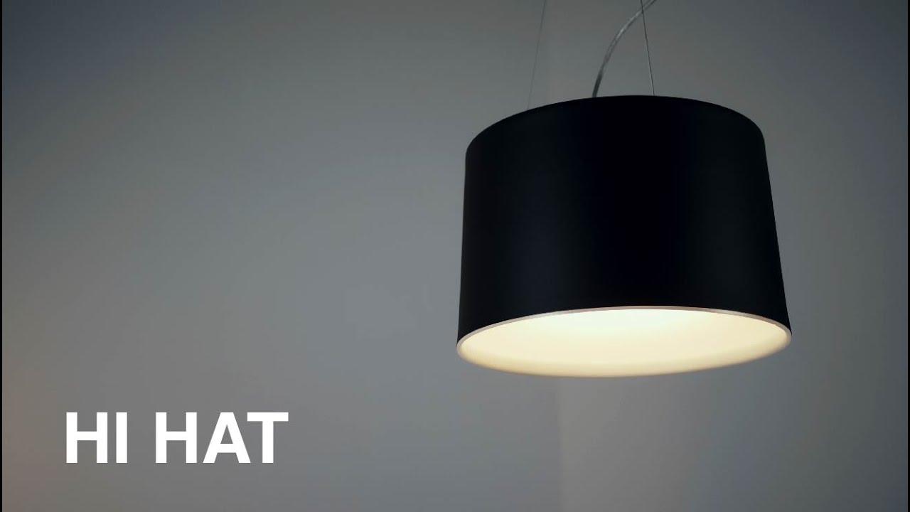 Lámparas colgantes de la familia Hi Hat - iMdi iluminación.