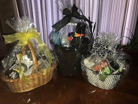 Day Gift Baskets using Dollar Tree