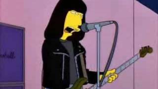 Ramones - Blitzkrieg Bop live on the Simpsons