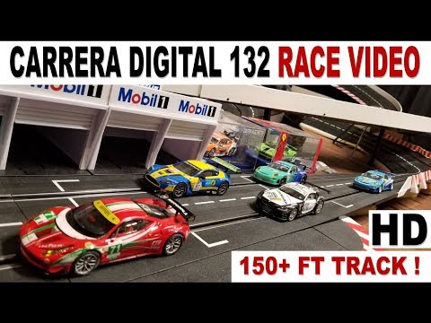 Carrera Digital 132 Slot 3 Car Race on Custom Track – HD – Race Highlights #2 ?