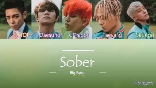 Big Bang - Sober (맨정신) | Sub (Han - Rom - Español) Color Coded Letra